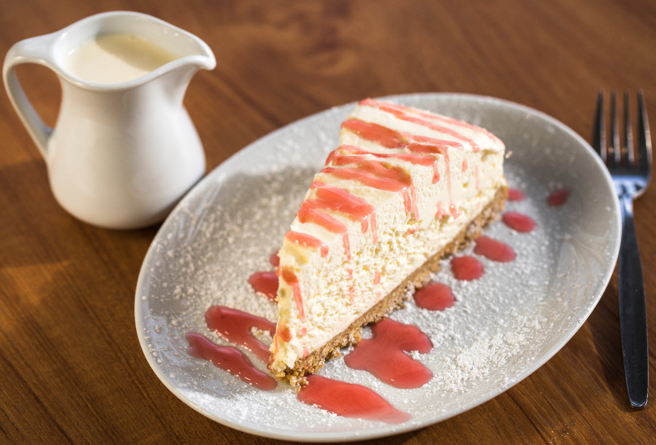 Cheesecake of the Day at The Lobster Pot (Please Note: This changes regularly)