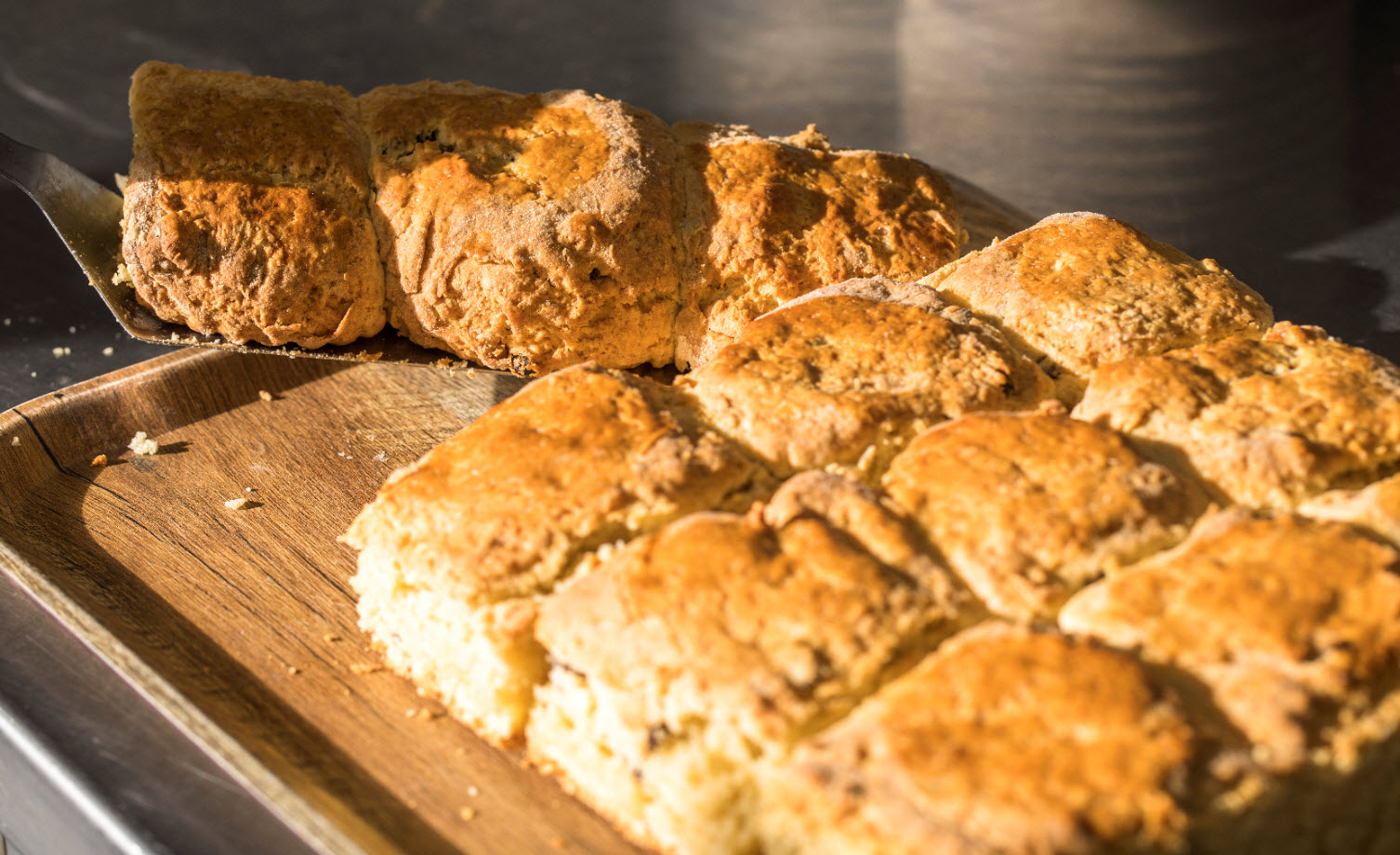 Freshly Baked Scones at The Lobster Pot